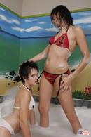 Lil Emily Bath With Friend 13