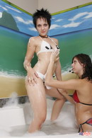Lil Emily Bath With Friend 16