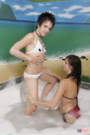 Lil Emily Bath With Friend 17